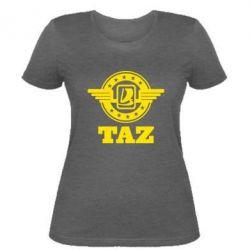 Женская футболка Taz