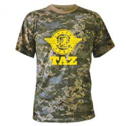 Камуфляжная футболка Taz