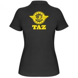 Женская футболка поло Taz