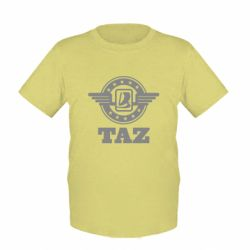 Детская футболка Taz