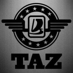 Наклейка Taz