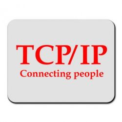 Коврик для мыши TCP\IP connecting people - FatLine