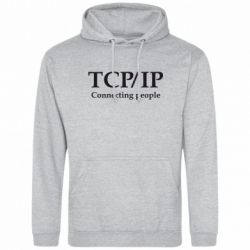 Толстовка TCP\IP connecting people - FatLine