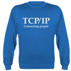Реглан (свитшот) TCP\IP connecting people