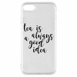 Чохол для iPhone 7 Tea is always a good idea