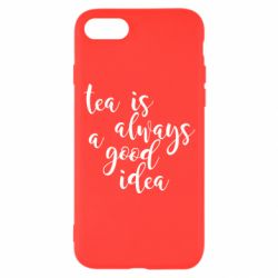 Чохол для iPhone 8 Tea is always a good idea