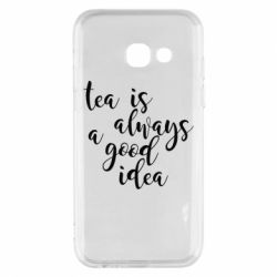Чохол для Samsung A3 2017 Tea is always a good idea