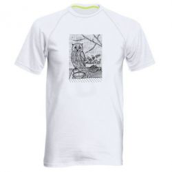 Мужская спортивная футболка Tea