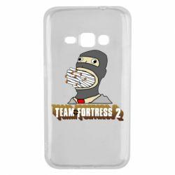 Чехол для Samsung J1 2016 Team Fortress 2 Art
