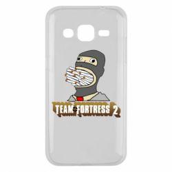Чехол для Samsung J2 2015 Team Fortress 2 Art