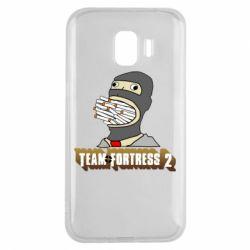 Чехол для Samsung J2 2018 Team Fortress 2 Art