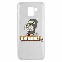 Чехол для Samsung J6 Team Fortress 2 Art