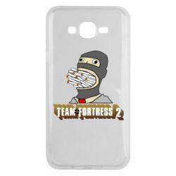 Чехол для Samsung J7 2015 Team Fortress 2 Art