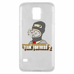 Чехол для Samsung S5 Team Fortress 2 Art