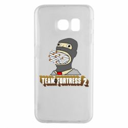 Чехол для Samsung S6 EDGE Team Fortress 2 Art