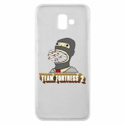 Чехол для Samsung J6 Plus 2018 Team Fortress 2 Art