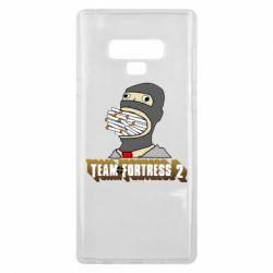 Чехол для Samsung Note 9 Team Fortress 2 Art
