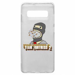 Чехол для Samsung S10+ Team Fortress 2 Art