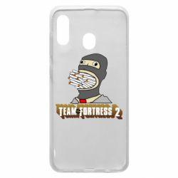 Чехол для Samsung A20 Team Fortress 2 Art