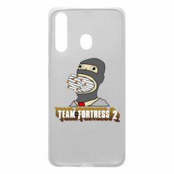 Чехол для Samsung A60 Team Fortress 2 Art