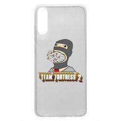 Чехол для Samsung A70 Team Fortress 2 Art