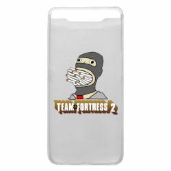 Чехол для Samsung A80 Team Fortress 2 Art