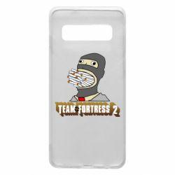 Чехол для Samsung S10 Team Fortress 2 Art
