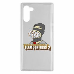 Чехол для Samsung Note 10 Team Fortress 2 Art
