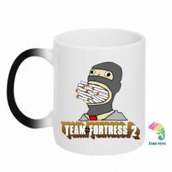 Кружка-хамелеон Team Fortress 2 Art