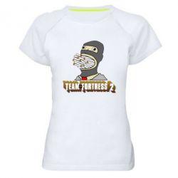 Женская спортивная футболка Team Fortress 2 Art