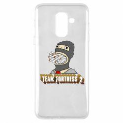 Чехол для Samsung A6+ 2018 Team Fortress 2 Art
