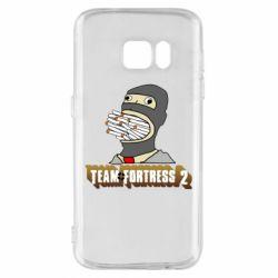 Чехол для Samsung S7 Team Fortress 2 Art
