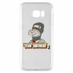 Чехол для Samsung S7 EDGE Team Fortress 2 Art
