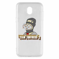 Чехол для Samsung J5 2017 Team Fortress 2 Art