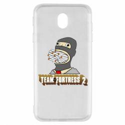 Чехол для Samsung J7 2017 Team Fortress 2 Art