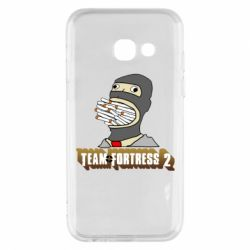 Чехол для Samsung A3 2017 Team Fortress 2 Art