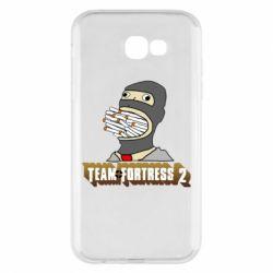 Чехол для Samsung A7 2017 Team Fortress 2 Art