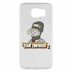 Чехол для Samsung S6 Team Fortress 2 Art