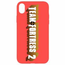 Чехол для iPhone XR Team Fortress 2 logo