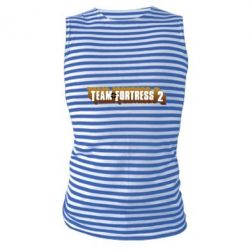 Майка-тельняшка Team Fortress 2 logo