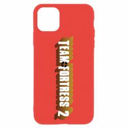 Чехол для iPhone 11 Team Fortress 2 logo
