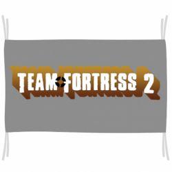 Флаг Team Fortress 2 logo