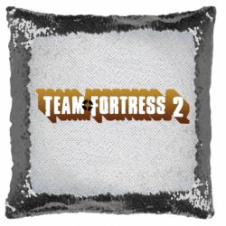 Подушка-хамелеон Team Fortress 2 logo