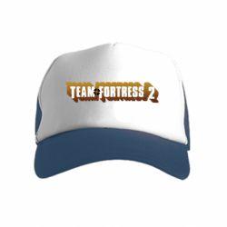 Детская кепка-тракер Team Fortress 2 logo