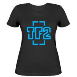 Женская футболка Team Fortress 2 logo