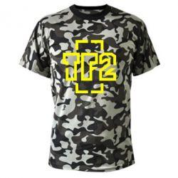 Камуфляжная футболка Team Fortress 2 logo