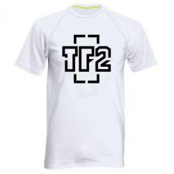 Мужская спортивная футболка Team Fortress 2 logo