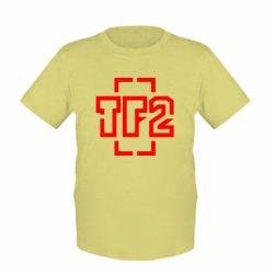 Детская футболка Team Fortress 2 logo