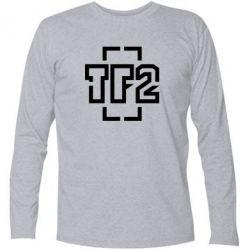 Купить Футболка с длинным рукавом Team Fortress 2 logo, FatLine