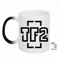 Кружка-хамелеон Team Fortress 2 logo